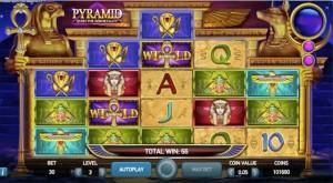 Pyramid Quest is een greep uit de videoslots met unieke vormgeving