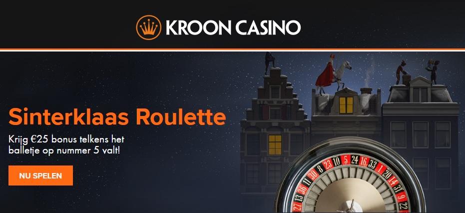 Sinterklaas roulette in het live casino