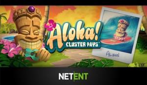 Speel Aloha! Cluster Pays bijvoorbeeld bij Kroon Casino