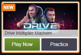Speel Drive Multiplier Mayhem gratis bij Kroon Casino