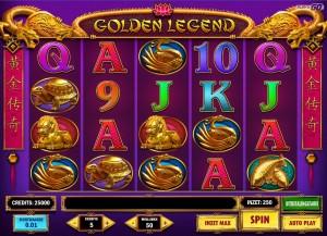 Speel Golden Legend van Play 'n Go