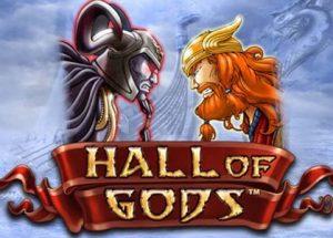 Speel Hall of Gods mobiel bij Kroon Casino