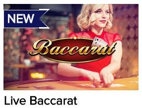 Speel aan de live baccarat tafels van de beste online casino's