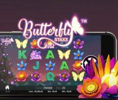 Claim je gratis spins bij Butterfly Staxx
