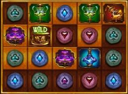 Speel een level uit door alle symbolen van goud te voorzien