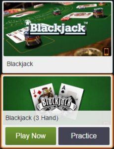 Speel verschillende soorten gratis casino blackjack bij Kroon Casino