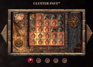 Speelscherm Lost Relics videoslot