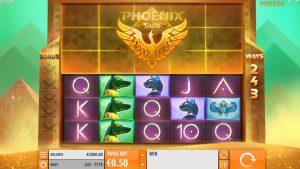 Speelscherm Phoenix Sun
