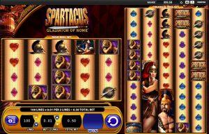 Speelscherm van Spartacus