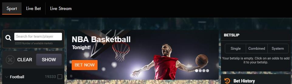 Sportsbook maakt ook onderdeel uit van Kroon Casino