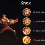 Superheld Knox uit Super Heroes videoslot