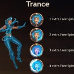 Superheld Trance uit Super Heroes videoslot
