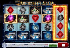 The Alchemist's Gold videoslot speelscherm