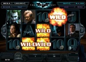 The Dark Knight behoort tot de populaire videoslots met jackpots