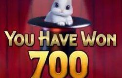 Tover een konijn uit je hoed in videoslot Presto