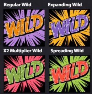vier-verschillende-wildsymbolen