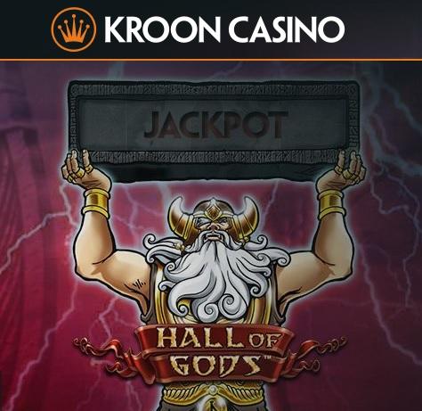 Waarom niet de jackpot slot Hall of Gods jackpot proberen te winnen