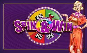 Wil je gratis videoslots spelen, zoals Spin & Win, kom naar Betsson