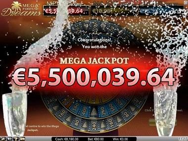 Win de Mega Fortune Dreams miljoenen jackpot bij Betsson