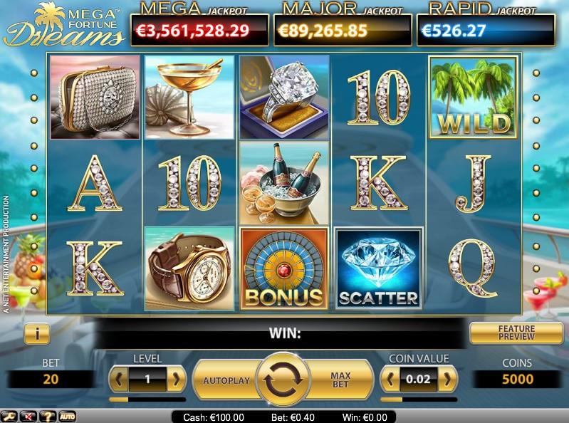 jackpot dreams casino online