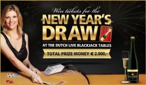 Win een prijs tijdens de Nieuwjaarstrekking bij Oranje Casino