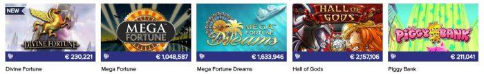 CasinoEuro aanbod