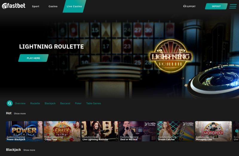 onlinecasino.nl Fastbet Pay n Play casino review homepage screenshot