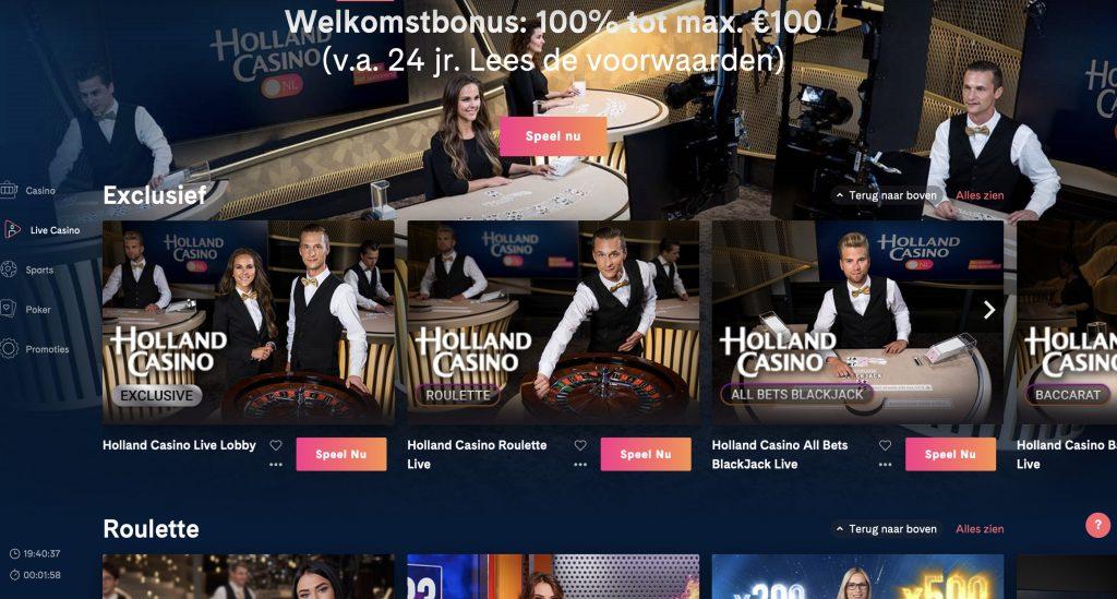 holland casino online spellen