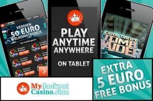 Het mobiele casino van MyJackpot