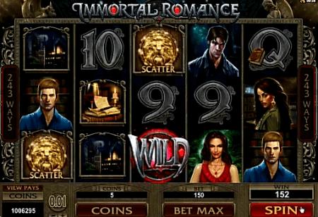 immortal romance online casino