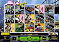 5 gratis spins op Jack Hammer 2 bij Casino Casino