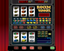 de eenvoudige gokkast
