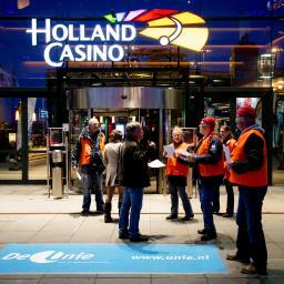 Landelijke stakingen bij Holland Casino