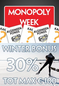 monopolyweek en winterbonus bij Casino Casino