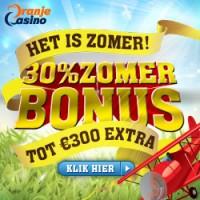 Zomer bonus bij oranje casino
