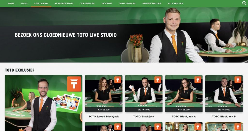 live casino toto