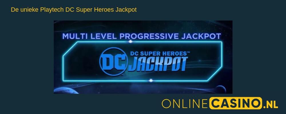 Videoslot jackpot: Playtech DC Super Heroes Jackpot