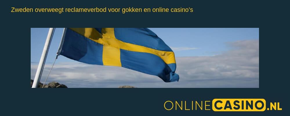 Reclame gokken: online casino in Zweden
