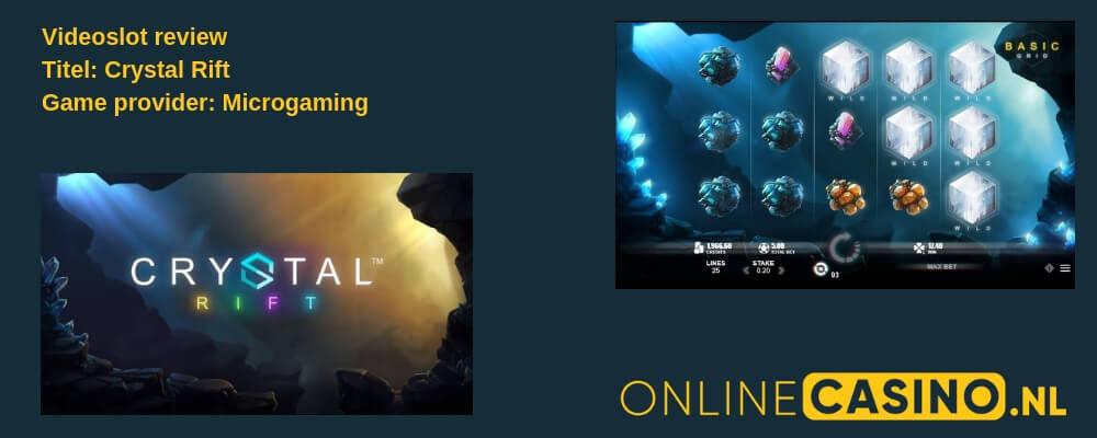 Videoslot review: Crystal Rift