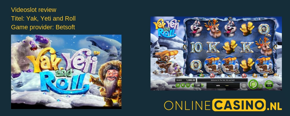 Online gokkast review: Yak, Yeti and Roll videoslot BetSoft
