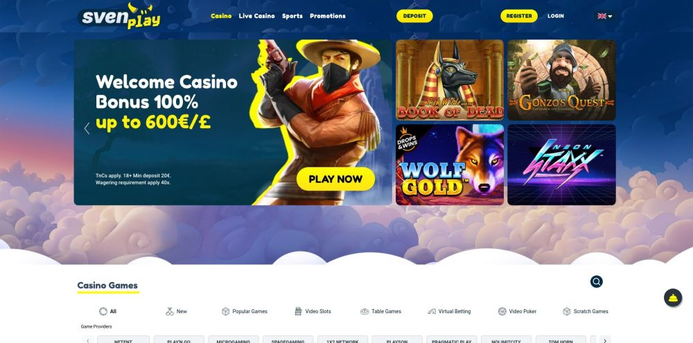 onlinecasino.nl review svenplay casino homepage screenshot oktober 2020