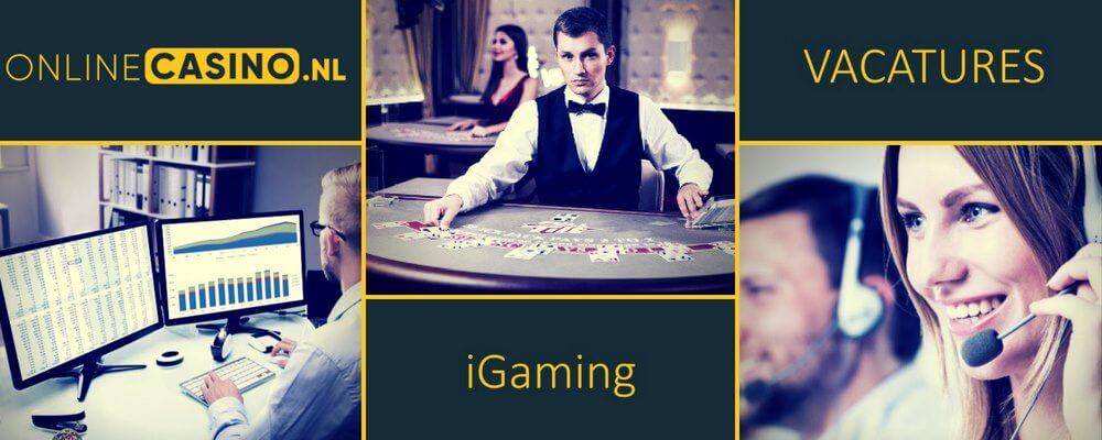 onlinecasino.nl werken in online casino iGaming business