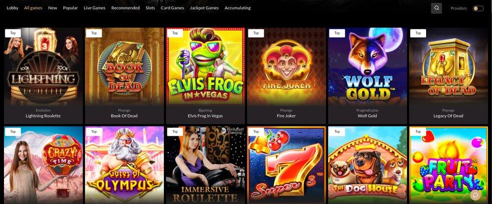 premier casino online casino