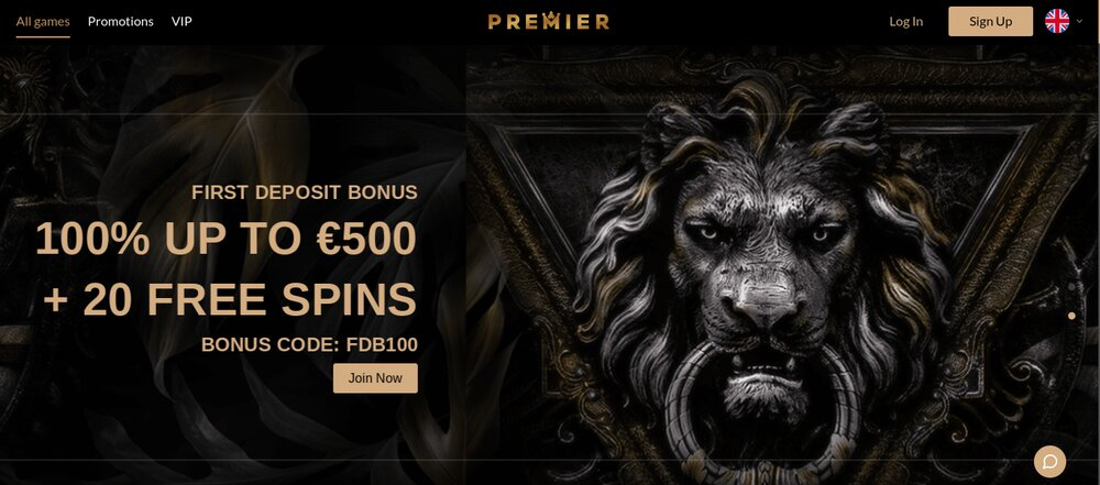 premier casino review homepagina